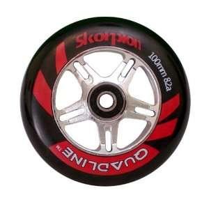 Quadline Wheels CHROME HYPER RIM   100mm x 82a
