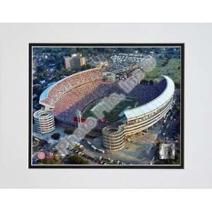 Alabama Crimson Tide Bryant Denny Stadium Double Matted