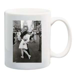 KISSING ON VJ DAY Mug Coffee Cup 11 oz: Everything Else
