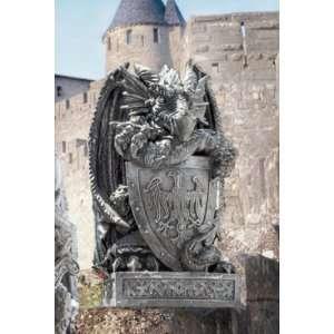 Shield, the Arthurian Dragon Statue