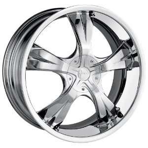 16x7 Mazzi Blade (370) (Chrome) Wheels/Rims 4x100/114.3