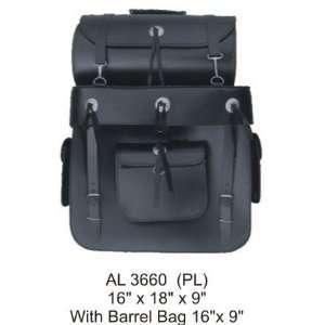 Cowhide Leather Travel Bag W/Conchos (16x18x9) & (16x9) Automotive
