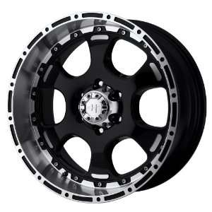Helo HE842 Gloss Black Machined Wheel   (17x8/8x165.1mm
