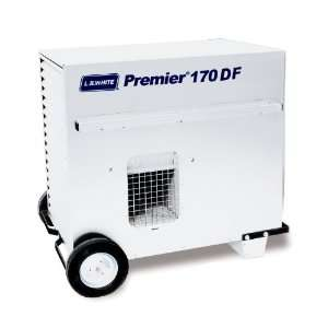170 Portable Forced Air Ductable Propane Tent Heater, 170,000 Btuh