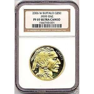2006 American Buffalo Gold Proof Coin NGC PF69