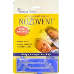 NoZovent Anti Snoring Device, 2 Breathing Strips, From Scandinavian