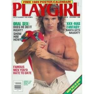 Playgirl Magazine   December 1988: Pee Wee Herman, 1989 Calendar