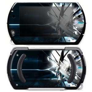 Sony PSP Go Skin Decal Sticker   Abstract Tech City