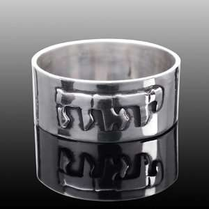 Jewish Silver Ring Hebrew Yahweh YHVH Yhwh God Name