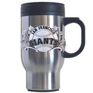 San Francisco Giants Stainless Steel & Pewter Travel Mug