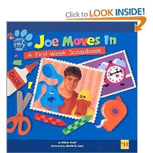Joe Moves in: A First Week Scrapbook (Blues Clues (8x8