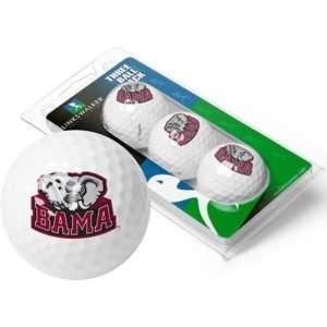 Alabama Crimson Tide NCAA 3 Golf Ball Sleeve Pack  Sports