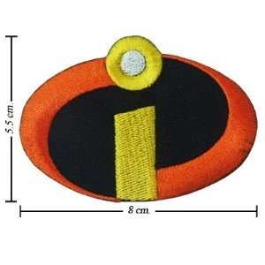 The Incredibles Logo Iron On Patches