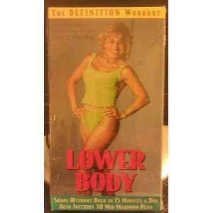 The Definition Workout Lower Body Joyce Vedral Movies & TV