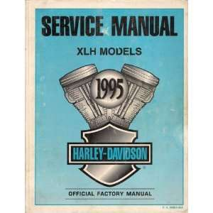 1995 Harley Davidson Service Manual for XLH Models, Part