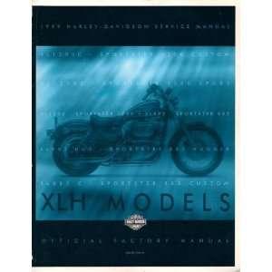 1999 Harley Davidson Service Manual   XLH Models: Harley