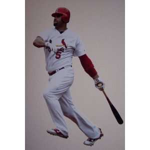 Albert Pujols Fathead St. Louis Cardinals MLB Wall Graphic