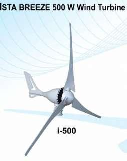 WIND TURBINE iSTA BREEZE MARINE , 12v 500 Watt, NEW WIND GENERATOR