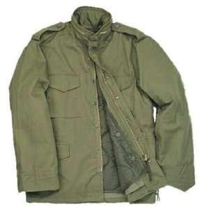 OLIVE DRAB M 65 FIELD JACKET MILITARY BDU JACKET ARMY