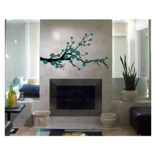 BLOSSOM VINYL DECAL STICKER WALL ART TREE FLOWER REMOVABLE DECOR 00019