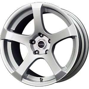 Liquid Metal Static Series Silver Wheel (15x7/5x114.3mm) Automotive