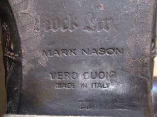 Leather Italian Designer Boots, Mark Nason Rock Lives sz 11 Amazing $
