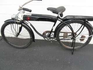 RARE! One Year Only Vintage Antique 1939 Hawthorne Zep Bicycle