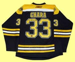Autographed Zdeno Chara Boston Bruins Jersey (black)