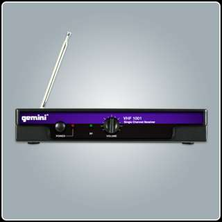 VHF 1001 (M or HL) Single Channel Wireless Microphone System