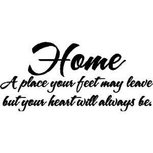Home WhereFamily Wall Quotes Words Sayings Removable