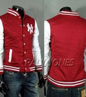 PJ New York Yankees Logo Baseball Jackets Coats For Men Uniform