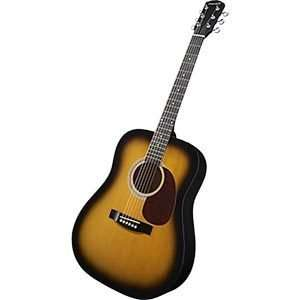 Fender Starcaster Acoustic Pack, Natural with Tuner and