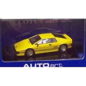 AutoArt 55303 Lotus Esprit Turbo Yellow Toys & Games