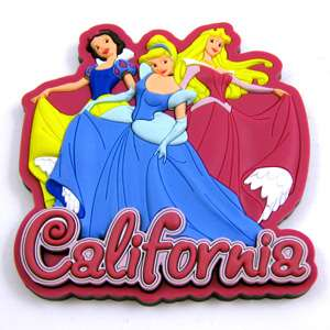 Disney Princess Aurora, Cinderella, Snow White Magnet