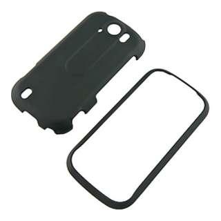 Mobile myouch 4G Slide Black Rubberized Hard Case Cover +Screen