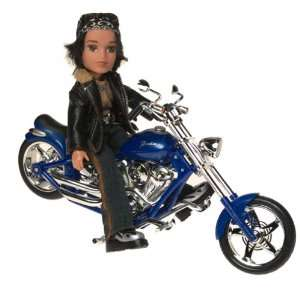 Bratz Motorcycle Style Vehicle with Cade Doll Toys