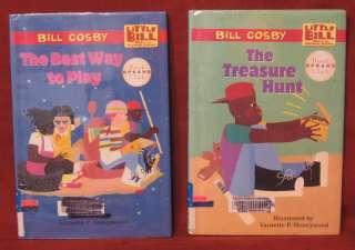 Cosby Little Bill Treasure Hunt Best Way Play 2 HB 1997 9780590137560