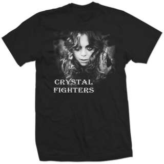 CRYSTAL FIGHTERS star of love band electronic new SHIRT