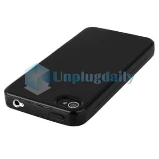 CASE+PRIVACY FILM+CAR+AC CHARGER for iPhone 4 4S 4G 4GS G