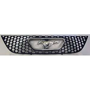 2004 FORD MUSTANG GRILLE with CHROME INSERT XR3X 8150
