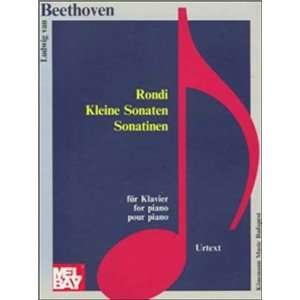 Sonatinas (Music Scores) (9789639059344): Ludwig Van Beethoven: Books