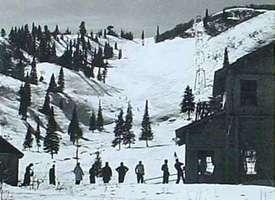 SKI PIN BADGE SKIING SNOWBASIN UTAH