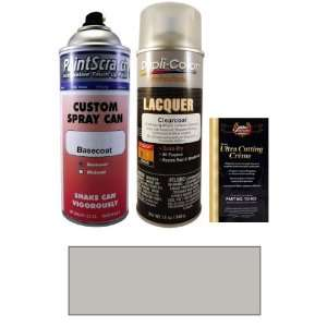 12.5 Oz. Brilliant Silver Metallic Spray Can Paint Kit for