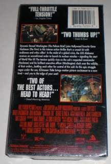 CRIMSON TIDE movie vhs SEALED Denzel Washington, Gene Hackman