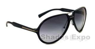 NEW PRADA SUNGLASSES SPR 20N BLACK 1AB 3M1 SPR20N AUTH