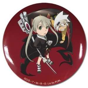 Soul and Maka Soul Eater Button: Toys & Games