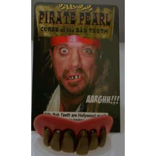 Billy Bob Pirate Pearl Teeth Toys & Games