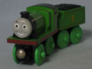 Thomas & Friends HENRY w/ Tender Magnetic Wooden Train