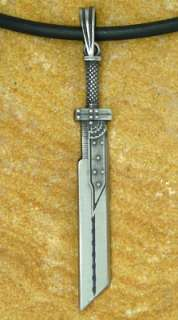 Pewter pendant of Clouds Sword. Come as Choices of Key chain or