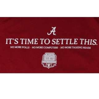 Alabama T Shirts   2012 BCS National Championship   Alabama vs LSU